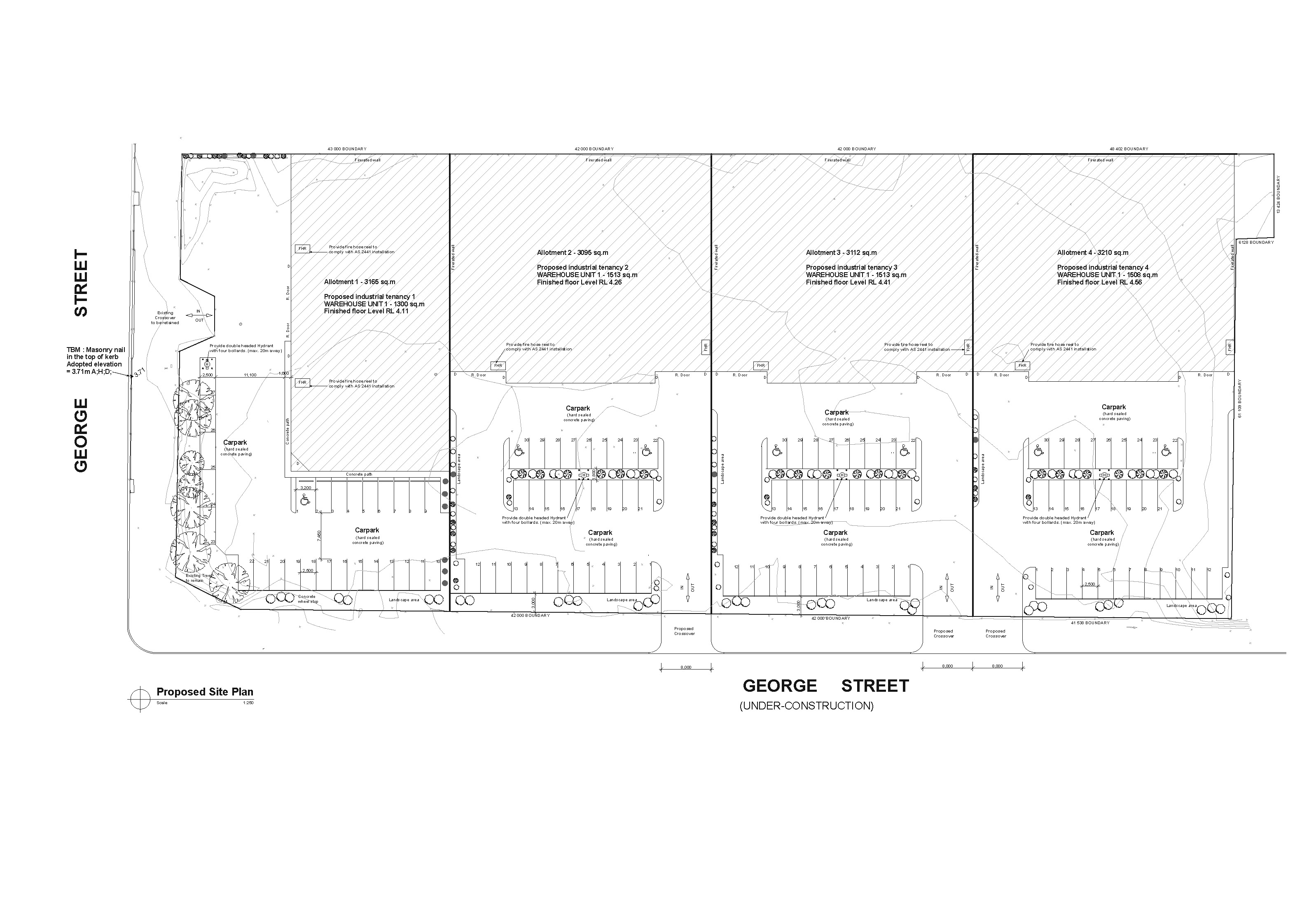 G. St. Green Fields- Site Plan